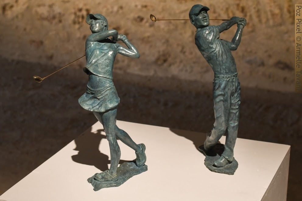 renee-paris-golfeurs-bronze