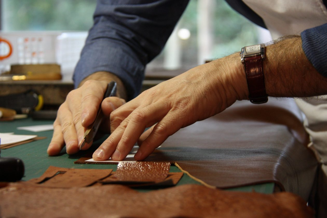 Bespoke leather products