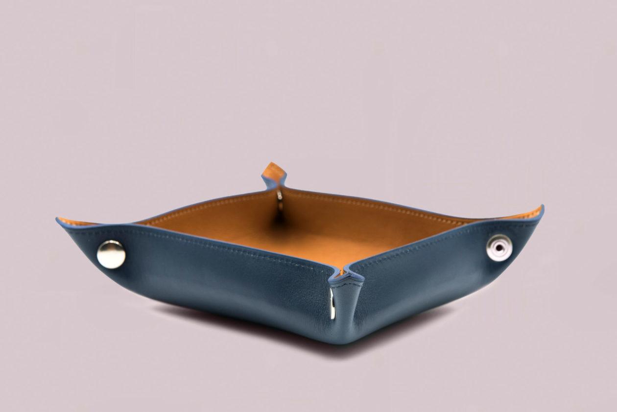 Vide-poche en cuir